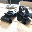 5.jpg Download free STL file Phone stand Bubbles • 3D printer template, Modellismo