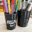Download free STL file Pen holder cup, Modellismo