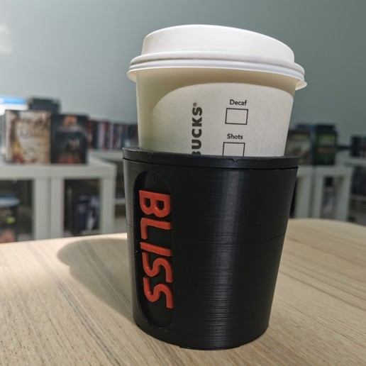 IMG_20200528_144410.jpg Download free STL file paper cup sleeve mindful II • 3D printable template, Modellismo