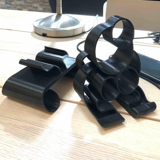 4.jpg Download free STL file Phone stand Bubbles • 3D printer template, Modellismo