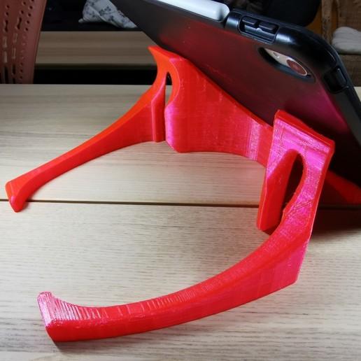 Download free STL file iPad stand Crawler I • Design to 3D print, Modellismo