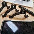 Parts.jpg Download free STL file iPad  Stand Vega • 3D printer template, Modellismo