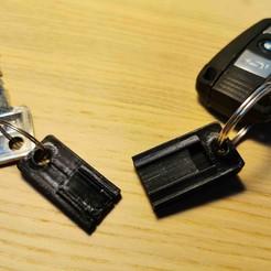 Télécharger STL gratuit Porte-clés en deux parties, Modellismo