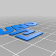 UnoAndLogo.png Download free STL file UNO R3 Case • Object to 3D print, menkheperra