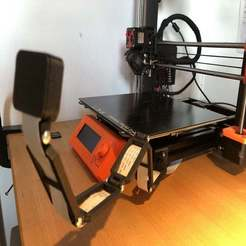 Download free 3D print files Prusa MK3S Raspberry Pi Camera Mount - by Clip-Fastening, Seabird