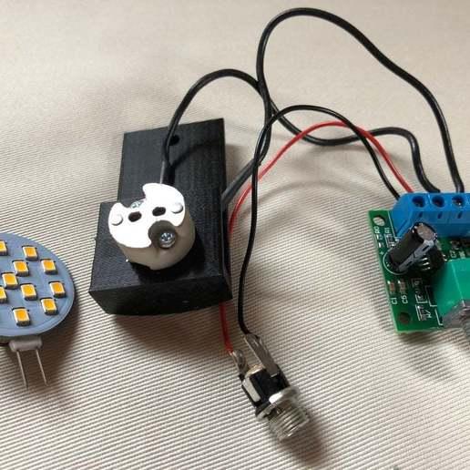 BSL_Tube_5a.jpg Download free STL file Bedside Lamp (Tube), LED 12V 2.5W • 3D printer model, Seabird