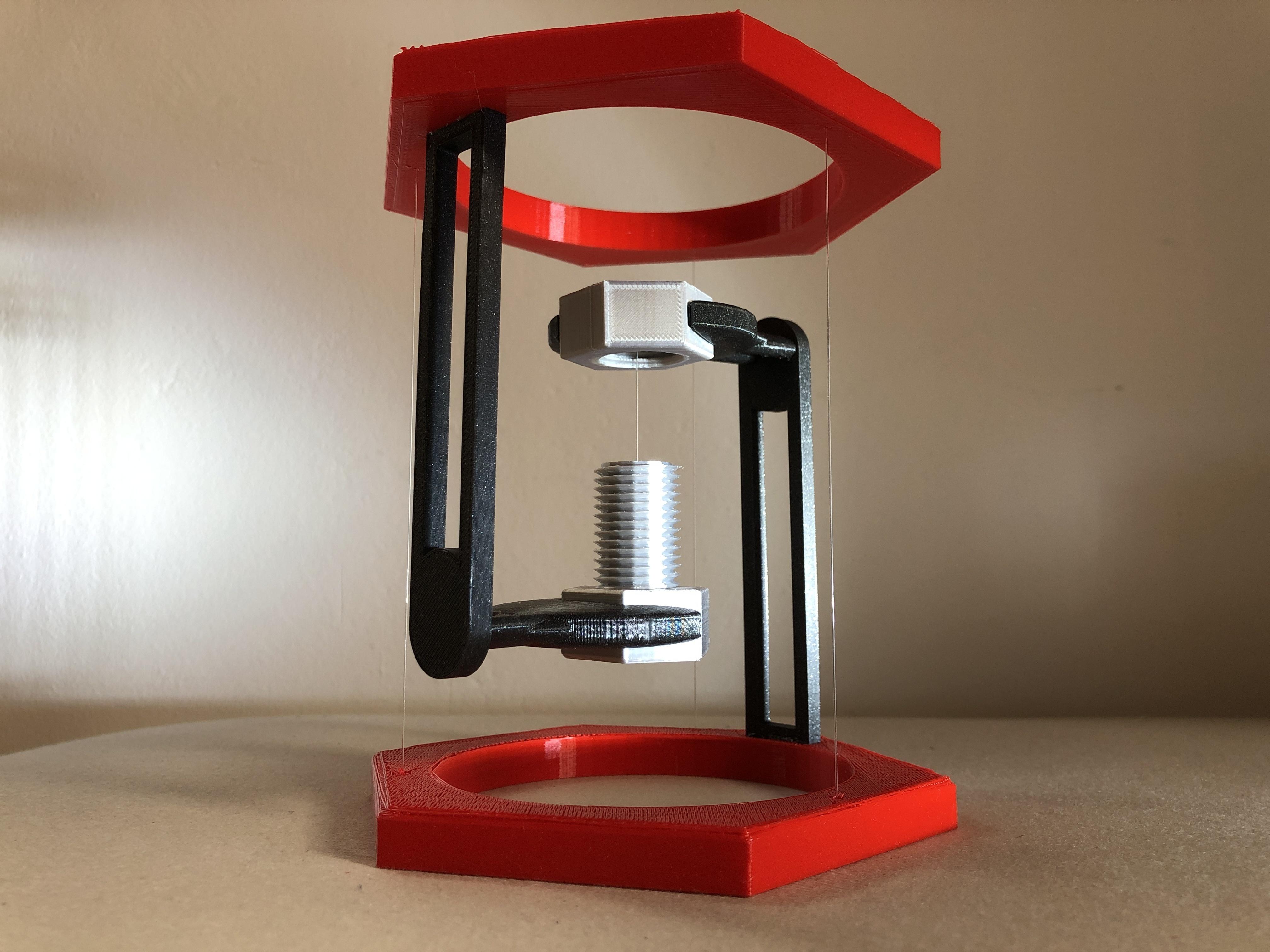 IMG_00.JPG Descargar archivo STL gratis BoltNut-Tensegrity • Modelo para imprimir en 3D, Seabird