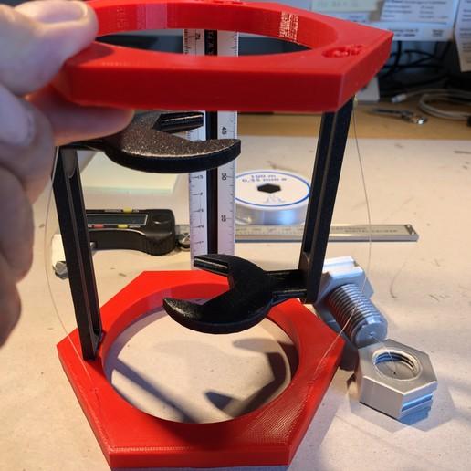 IMG_14.JPG Télécharger fichier STL gratuit BoltNut-Tensegrity • Modèle à imprimer en 3D, Seabird