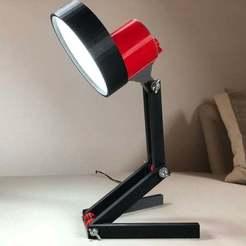IMG_01.jpeg Télécharger fichier STL gratuit Lampe de bureau USB • Design imprimable en 3D, Seabird