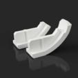 Download free 3D model Kettler Tiffany - Stool/Hocker - Foot Cap, Seabird