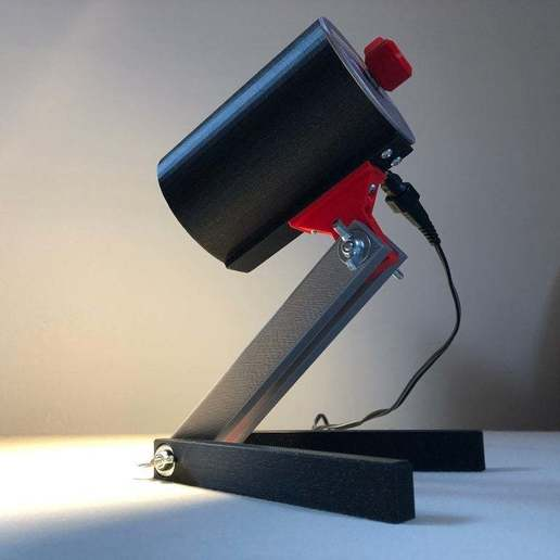 BSL_Tube_00e.jpeg Download free STL file Bedside Lamp (Tube), LED 12V 2.5W • 3D printer model, Seabird