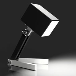 BSL_01.png Download free STL file Bedside Lamp (Box), LED 12V 2.5W • 3D printable object, Seabird