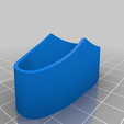 Ciris_Dagger_Scabbard_Rosette.png Download free STL file Ciri's Dagger (Print without support) • 3D print template, Seabird