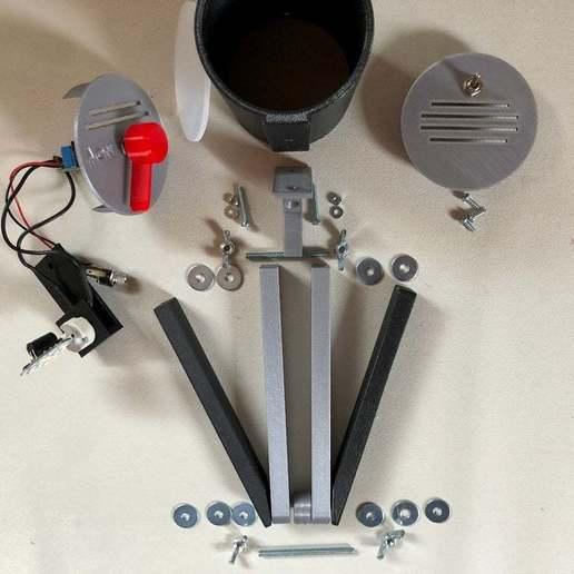 BSL_Tube_05c.jpg Download free STL file Bedside Lamp (Tube), LED 12V 2.5W • 3D printer model, Seabird