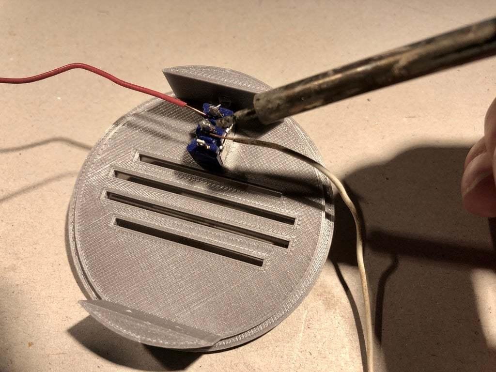 BSL_Tube_05h1.jpeg Download free STL file Bedside Lamp (Tube), LED 12V 2.5W • 3D printer model, Seabird