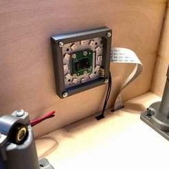 Télécharger plan imprimante 3D gatuit Cadre de la lumière annulaire FabScanPi, seabird