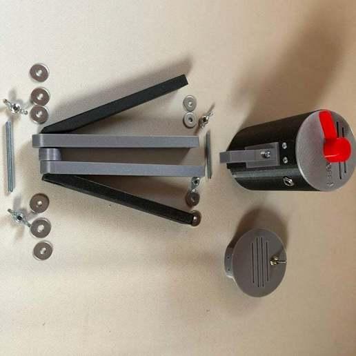 BSL_Tube_05i.JPG Download free STL file Bedside Lamp (Tube), LED 12V 2.5W • 3D printer model, Seabird
