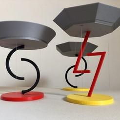 Download free 3D printer model Floating Bowls - Tensegrity, Seabird