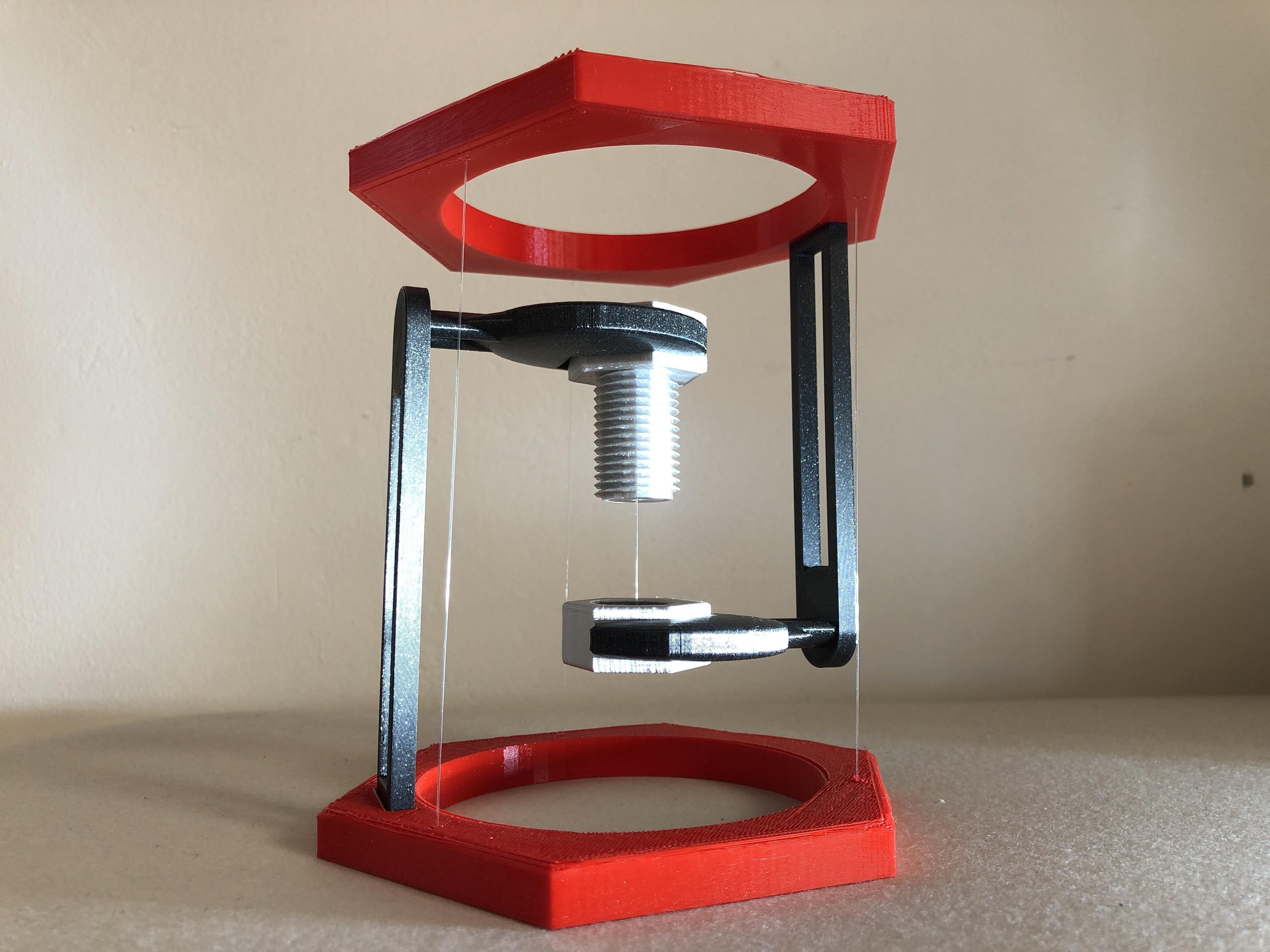 IMG_01.JPG Télécharger fichier STL gratuit BoltNut-Tensegrity • Modèle à imprimer en 3D, Seabird