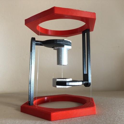 IMG_01.JPG Descargar archivo STL gratis BoltNut-Tensegrity • Modelo para imprimir en 3D, Seabird