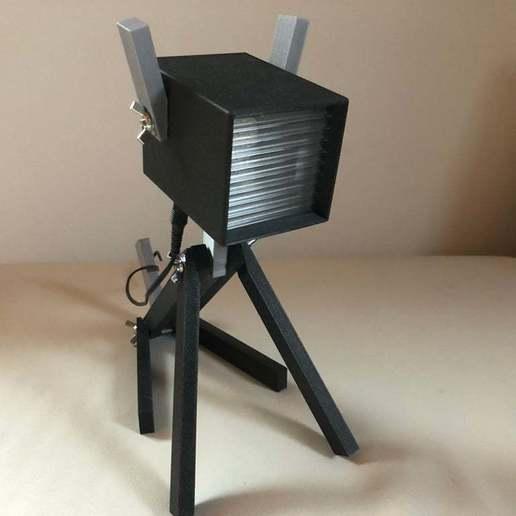 IMG_0756.jpeg Download free STL file PLAzzy Lamp (Dog), LED 12V 2.5W • 3D printer model, Seabird