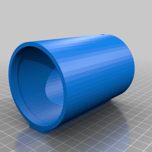 BSL_Tube_head.png Download free STL file Bedside Lamp (Tube), LED 12V 2.5W • 3D printer model, Seabird