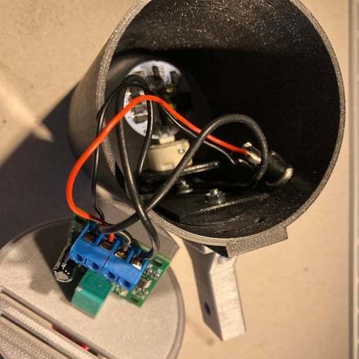 BSL_Tube_05h.JPG Download free STL file Bedside Lamp (Tube), LED 12V 2.5W • 3D printer model, Seabird