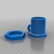 Download free 3D printer files BoltNut Cup, Seabird