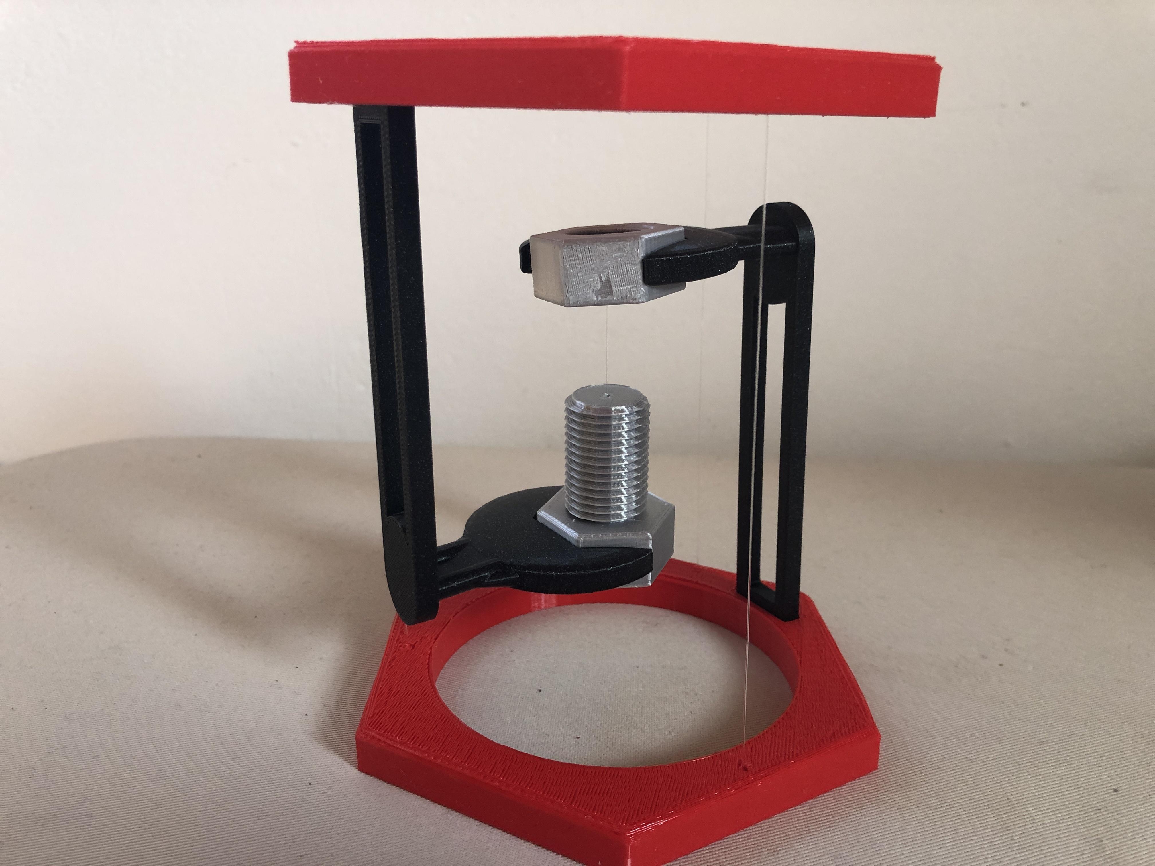 IMG_02.JPG Descargar archivo STL gratis BoltNut-Tensegrity • Modelo para imprimir en 3D, Seabird