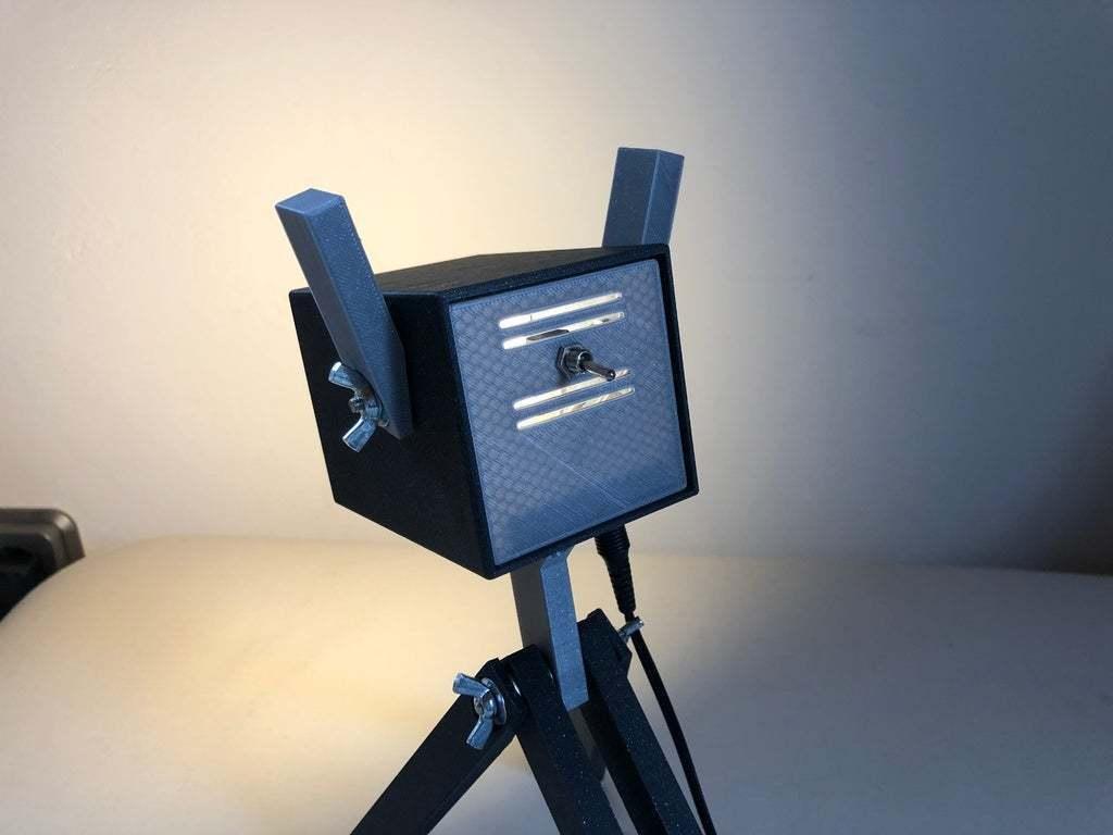 IMG_0763.jpeg Download free STL file PLAzzy Lamp (Dog), LED 12V 2.5W • 3D printer model, Seabird