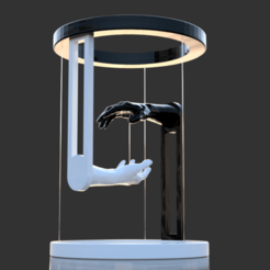IMG_00.png Descargar archivo STL gratis Manos Mágicas - Tensegridad • Objeto para impresora 3D, Seabird