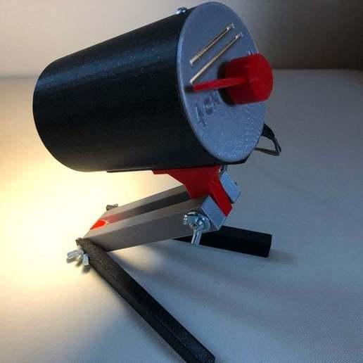 BSL_Tube_00g.jpeg Download free STL file Bedside Lamp (Tube), LED 12V 2.5W • 3D printer model, Seabird