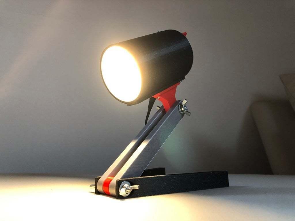 BSL_Tube_00f.jpeg Download free STL file Bedside Lamp (Tube), LED 12V 2.5W • 3D printer model, Seabird