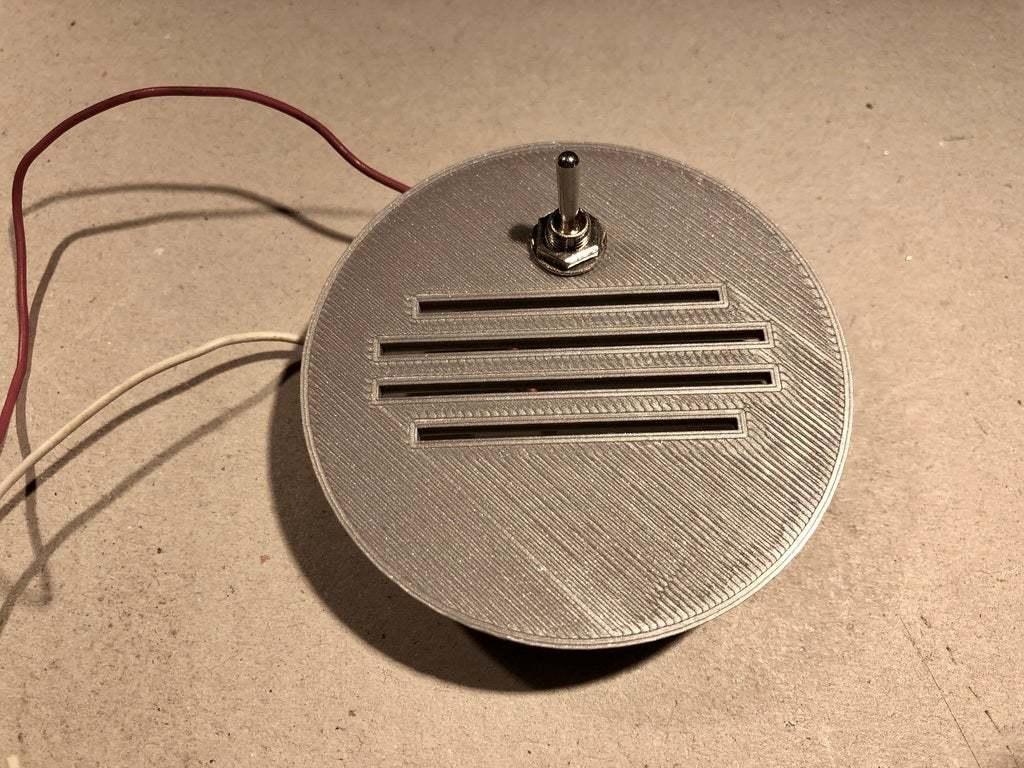 BSL_Tube_05h2.jpeg Download free STL file Bedside Lamp (Tube), LED 12V 2.5W • 3D printer model, Seabird