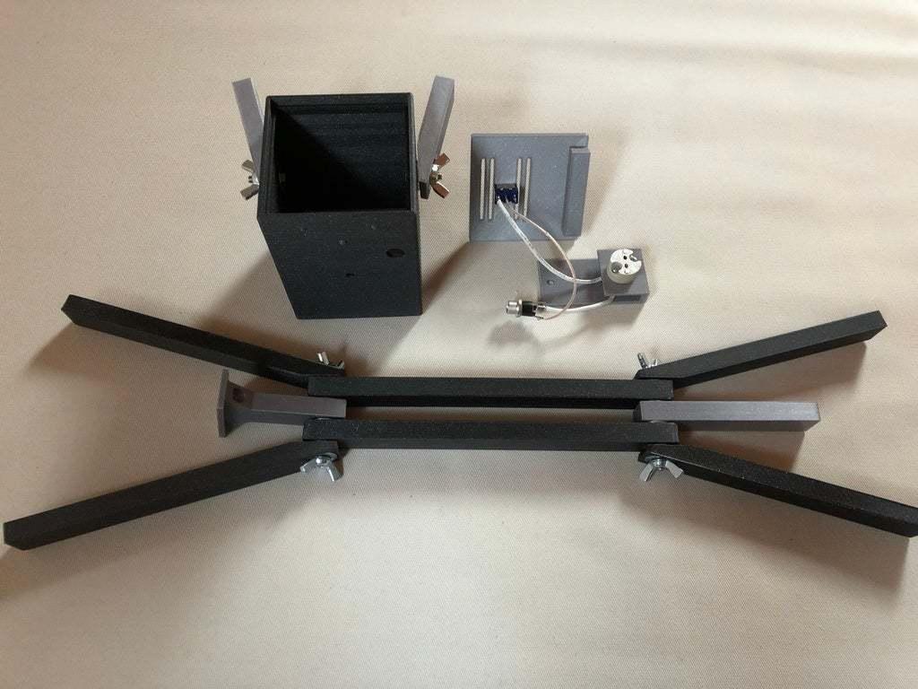 IMG_0772.jpeg Download free STL file PLAzzy Lamp (Dog), LED 12V 2.5W • 3D printer model, Seabird