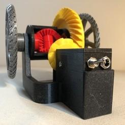Descargar diseños 3D gratis Diferencial automovilístico (con fuente de alimentación interna), seabird
