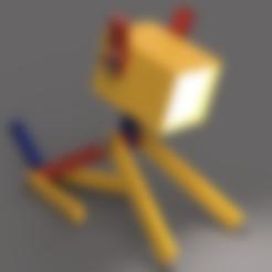PLAzzy_LED-Dog-Lamp_body.stl Download free STL file PLAzzy Lamp (Dog), LED 12V 2.5W • 3D printer model, Seabird