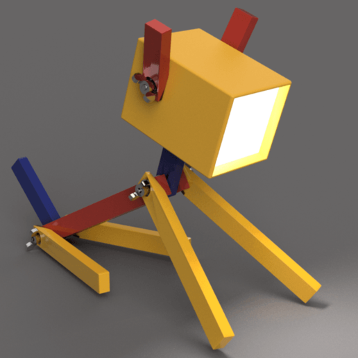 Plazzy_04.png Download free STL file PLAzzy Lamp (Dog), LED 12V 2.5W • 3D printer model, Seabird