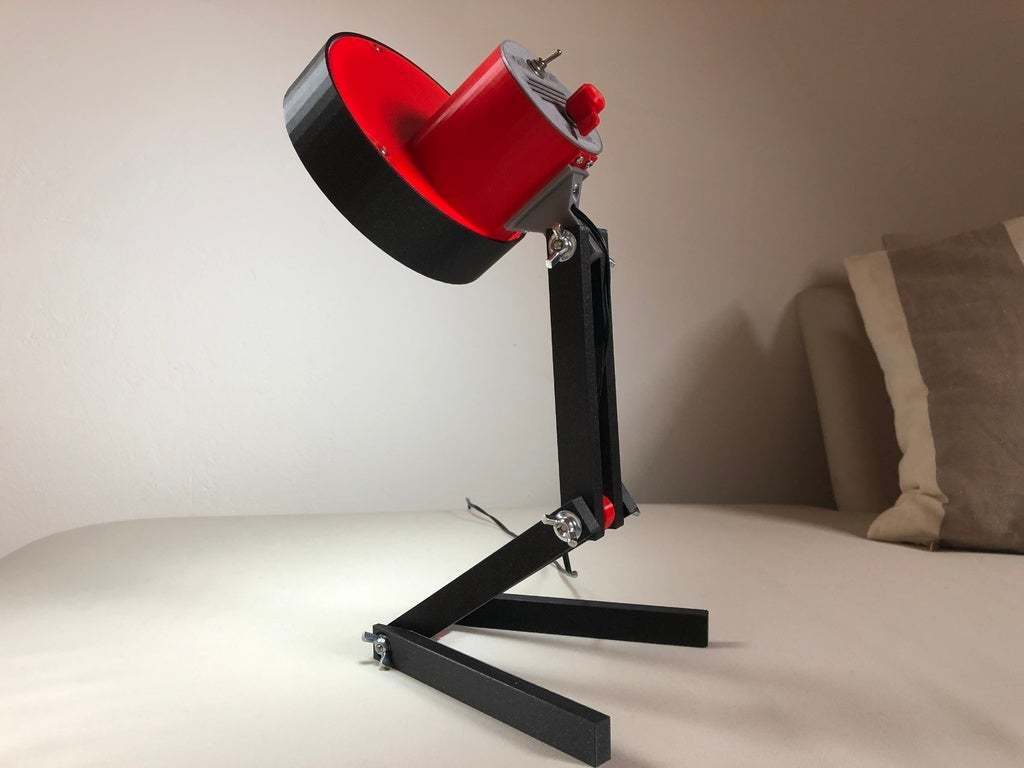 IMG_02.jpeg Download free STL file USB Desk Lamp • 3D printable model, Seabird