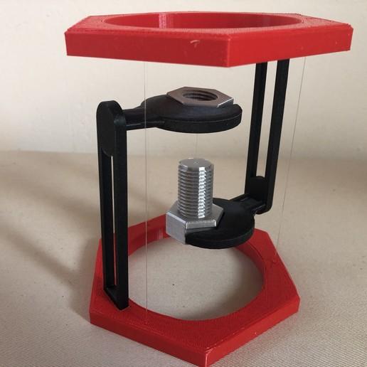 IMG_03.JPG Descargar archivo STL gratis BoltNut-Tensegrity • Modelo para imprimir en 3D, Seabird
