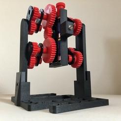Download free STL file Walking Gear Robot (Switch version) • 3D printing design, Seabird