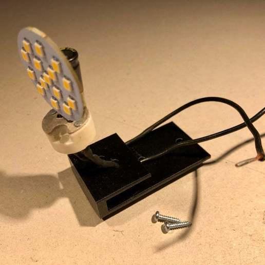 BSL_Tube_01b.jpg Download free STL file Bedside Lamp (Tube), LED 12V 2.5W • 3D printer model, Seabird