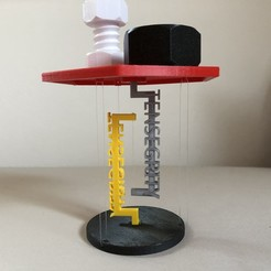 Download free 3D printing models Tensegrity Table, Seabird