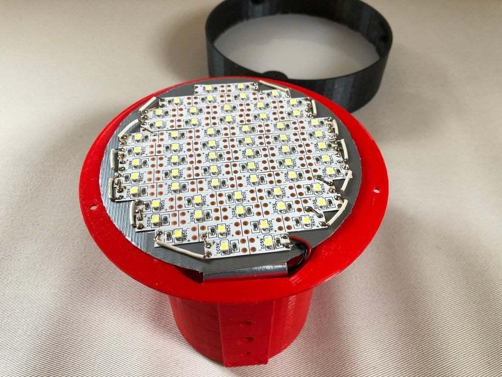 IMG_12.JPG Download free STL file USB Desk Lamp • 3D printable model, Seabird