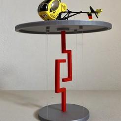 Download free 3D printing designs Floating TableTop V.2, Seabird