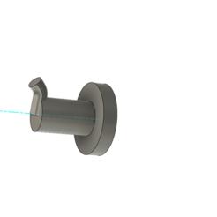 percha.png Download STL file Towel hanger • Model to 3D print, pindu