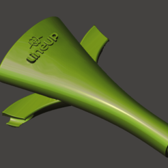 Descargar Modelos 3D para imprimir gratis COVID-19 DENTIST succión, LINEUPortho18