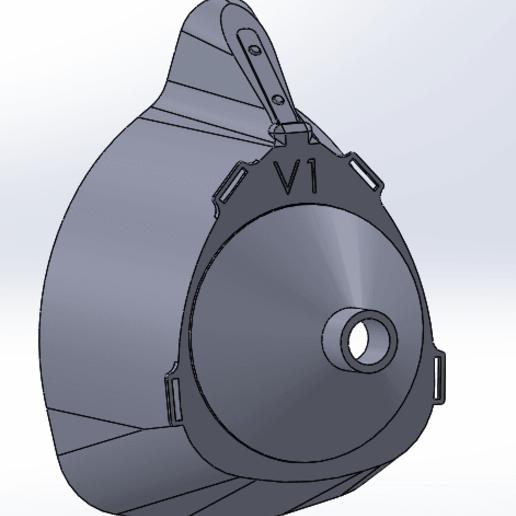 Download free STL file respirator mask, dr-maker