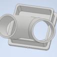 Download free 3D printer files Twin-Filter Socket for Corona-Mask, InHol