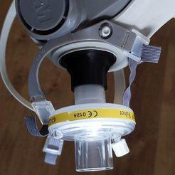 Descargar modelos 3D gratis Máscara 3M - Conector de filtro DAR (incl. tapa final), PrzemekStachura